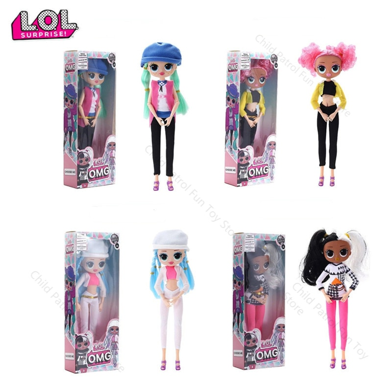 AliExpress - LOL Surprise Omg Joints Can Move Swag Lol Dolls Fashion Doll Girlfriend Kids Toys for Children Birthday Girls Party Gifts
