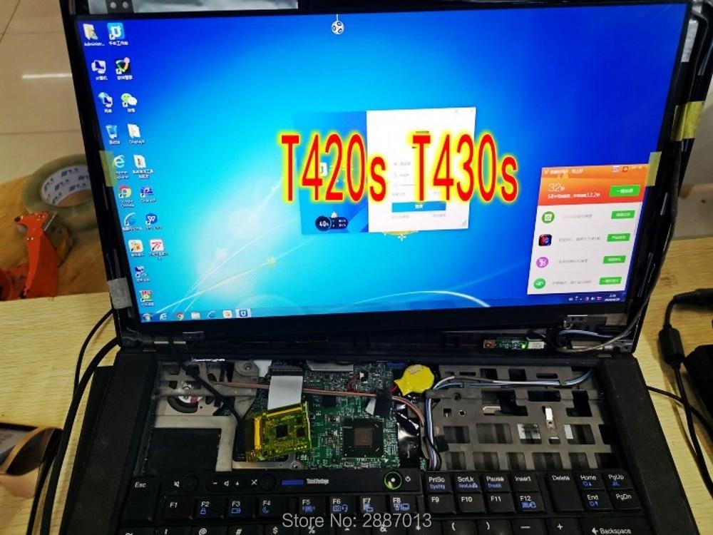 SANITER относится к Lenovo T420S T430S экран высокая оценка IPS 1920*1080 HD ЖК-экран ноутбука