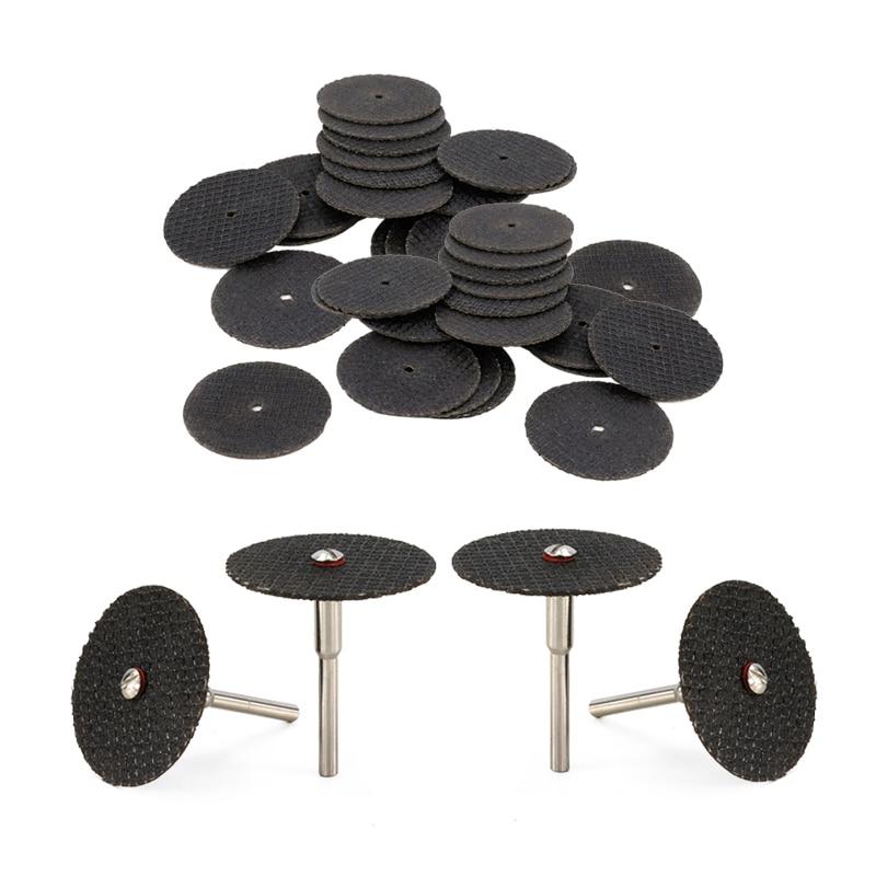 54 vnt. 32 mm abrazyvinis pjovimo diskas su ašinėmis šlifavimo - Abrazyviniai įrankiai - Nuotrauka 3