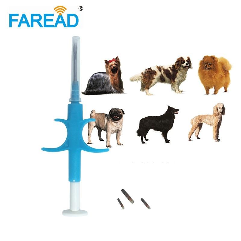 شحن مجاني 1.4x 8 مللي متر/2*12 مللي متر Bioglass علامة FDX-B الكلب رقاقة الحيوان زرع ISO RFID رقاقة حاقن الحيوانات الأليفة رقاقة حقنة