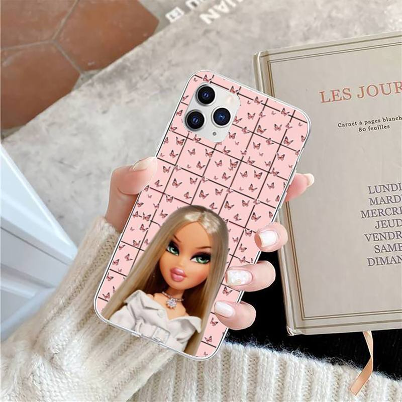 bratz doll Phone Case for iPhone 11 12 13 mini pro XS MAX 8 7 6 6S Plus X 5S SE 2020 XR case