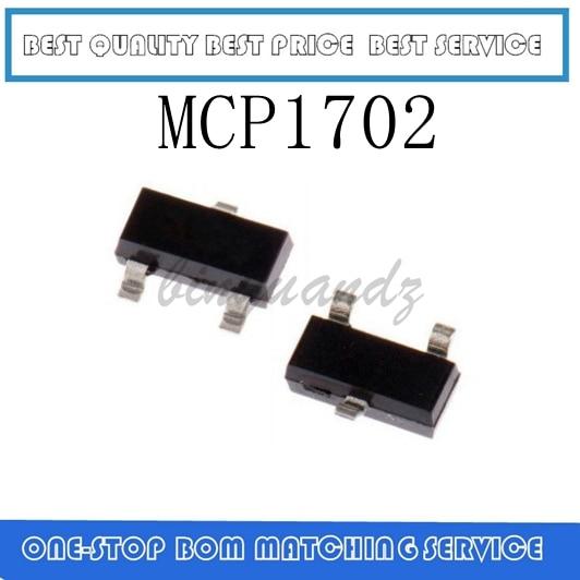 50 Uds ~ 100 Uds MCP1702 MCP1702T-3302E MCP1702T-3302E/CB SOT23-3 nuevo original