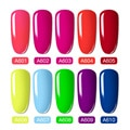 ROSALIND Neon Gel Polish varnishes Hybrid Nails For Manicure 7ML Semi Permanent Soak off Primer Base Top Coat Gel Nail Polish