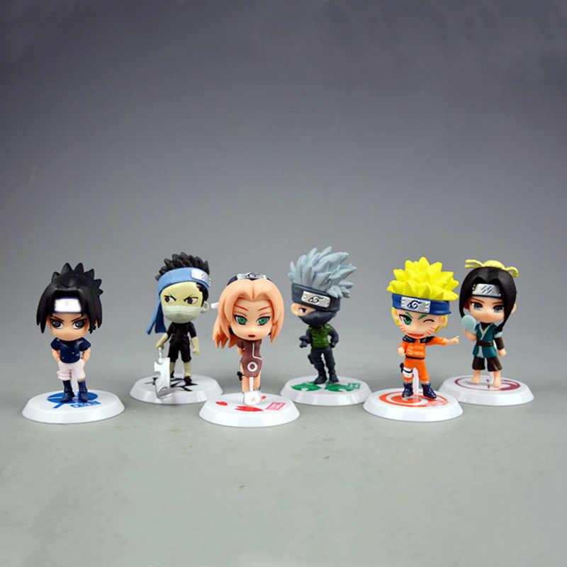 6 Unids Lote 7cm Anime Naruto Figura De Juguete Sasuke Kakashi Sakura Gaara Itachi Obito Madara Asesino Mini Abeja Modelo Muñeca Para Los Niños Figuras De Juguete Y Acción Aliexpress
