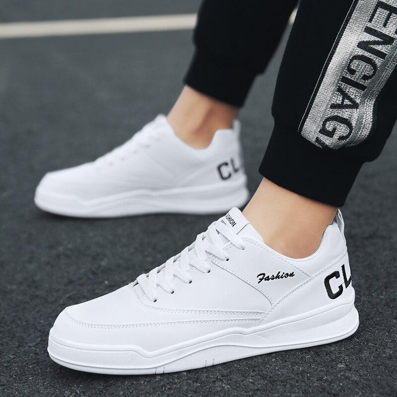 2020 Hot Sale Men's  Fashion  Casual Shoes White Lace-Up Breathable Shoes Sneakers basket Mens Trainers Zapatillas Hombre