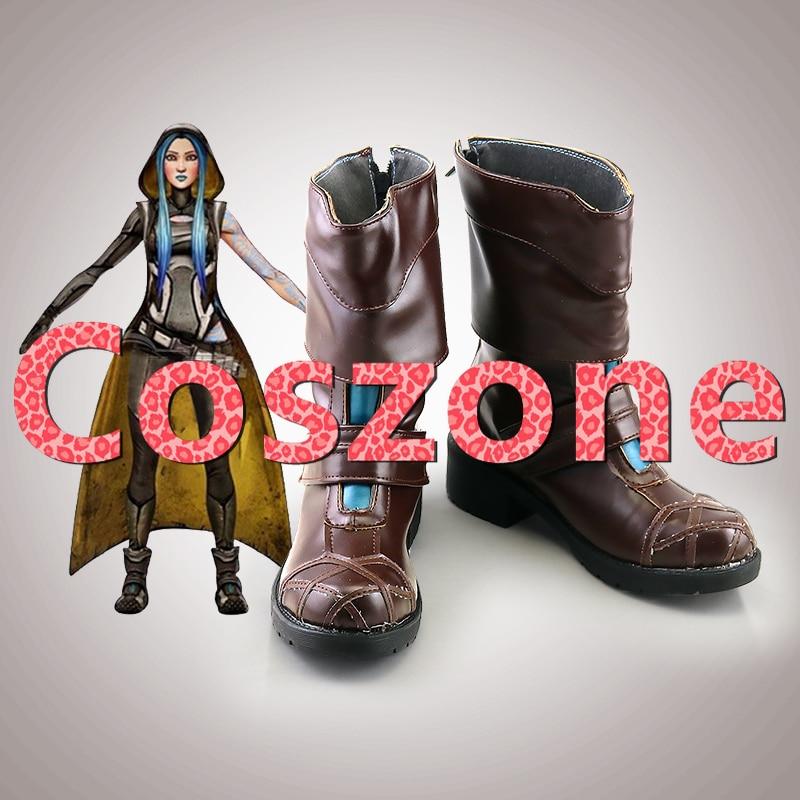 Borderlands 3, zapatos de Cosplay Maya, botas, Halloween, Carnaval, accesorio de disfraz