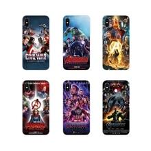 TPU Case Cover Captain America Avengers male Exquisite For Samsung Galaxy J1 J2 J3 J4 J5 J6 J7 J8 Plus 2018 Prime 2015 2016 2017