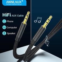 AUX Cable Jack 3.5mm Audio Cable 3.5 MM Jack Speaker Cable for JBL Headphones Car Samsung S21 Xiaomi