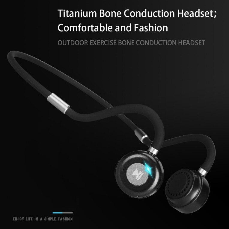 Bone Conduction Earphone Bluetooth Wireless Not In-ear Headphones Waterproof Sports Headset Wireless Sports headohone for phone enlarge