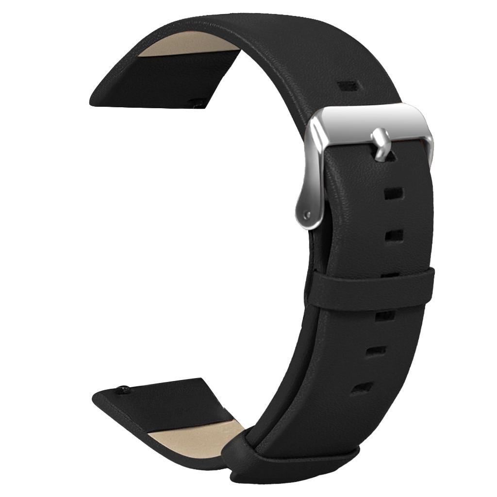 Correa de cuero Reloj de pulsera inteligente ligera 2020 para Huami AMAZFIT GTR 47 mmcorrea de reloj 14-24mm #40