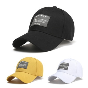 New Patch Digital Label Baseball Caps For Men And Women Outdoor Outing Sun-Shading Personality Caps Tide