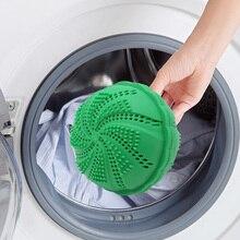 Silikon Eco Freundliche Wäsche Waschen Ball Anion Moleküle Anti Wrap Holzkohle Magie Kleidung Sauber Erweichen