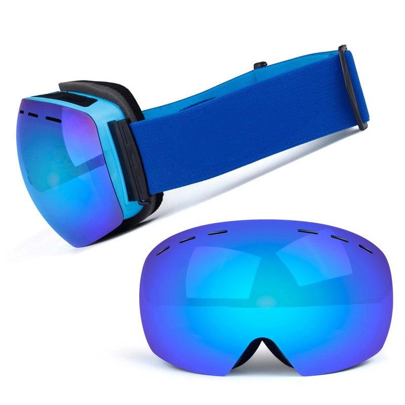 Фото - Ski Goggles Double Layers UV400 Anti-fog Big Ski Mask Glasses Skiing Snow Men Women Snowboard Goggles nandn ski goggles double layers uv400 anti fog big ski mask glasses skiing men women snow snowboard goggles ng5