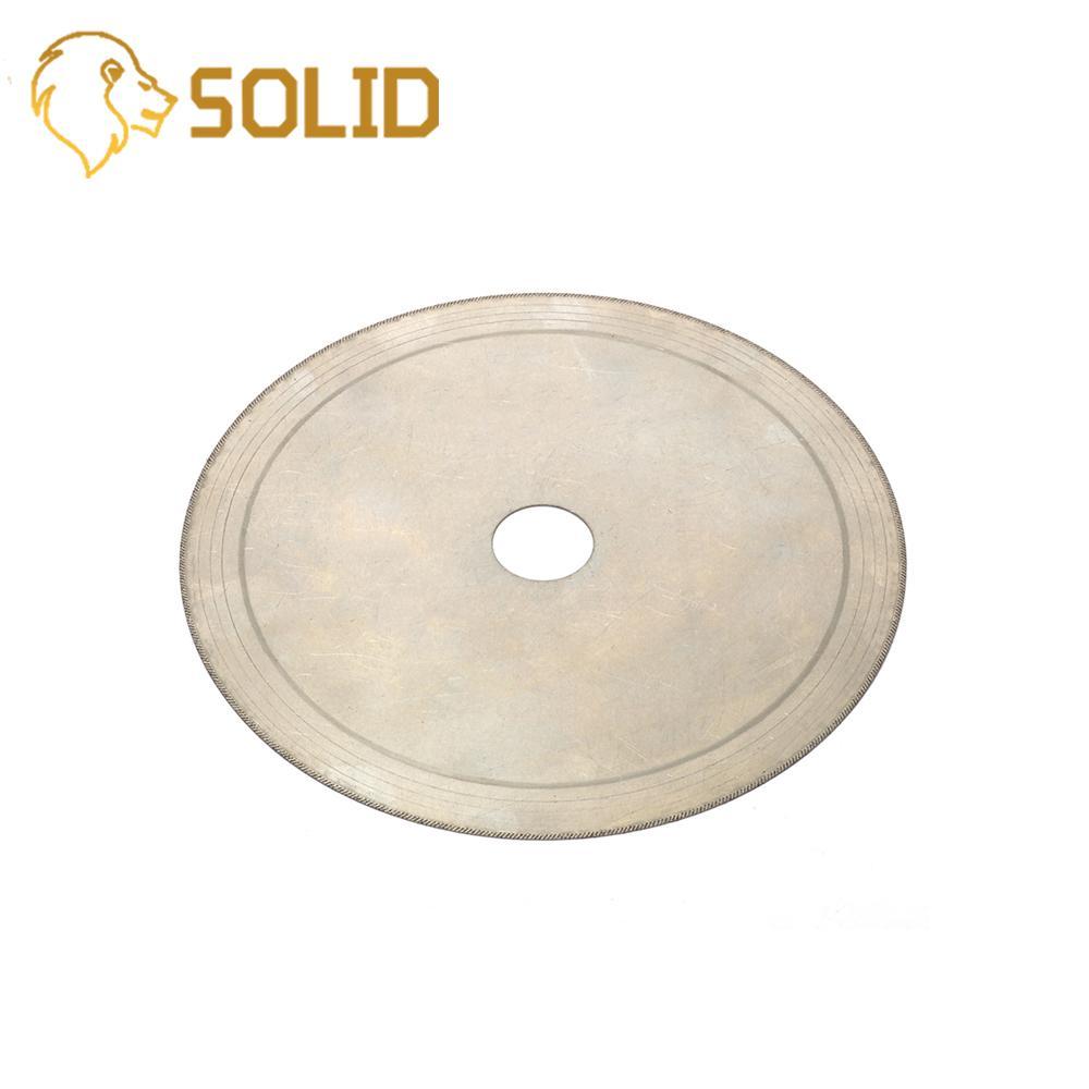 Sierras de lapidaria de diamante fino de 150MM disco de corte húmedo de borde súper para joyería herramientas giratorias de 20MM diámetro 5 unids/set