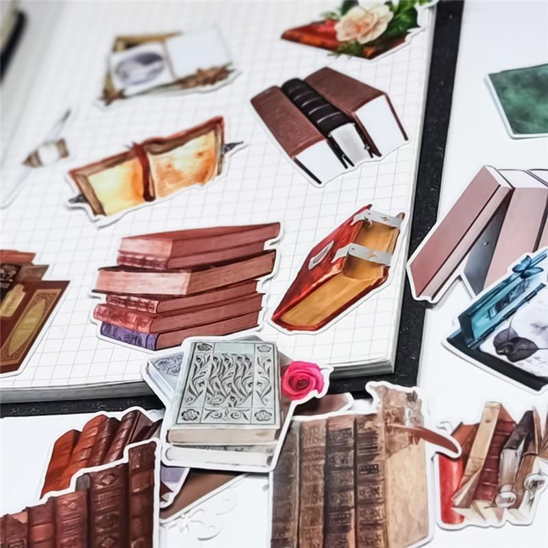 22-pz-pacco-kawaii-libri-in-pvc-impermeabile-ufficiale-decorativo-della-cancelleria-adesivi-artigianali-scrapbooking-fai-da-te-diario-album-di-etichetta-bastone