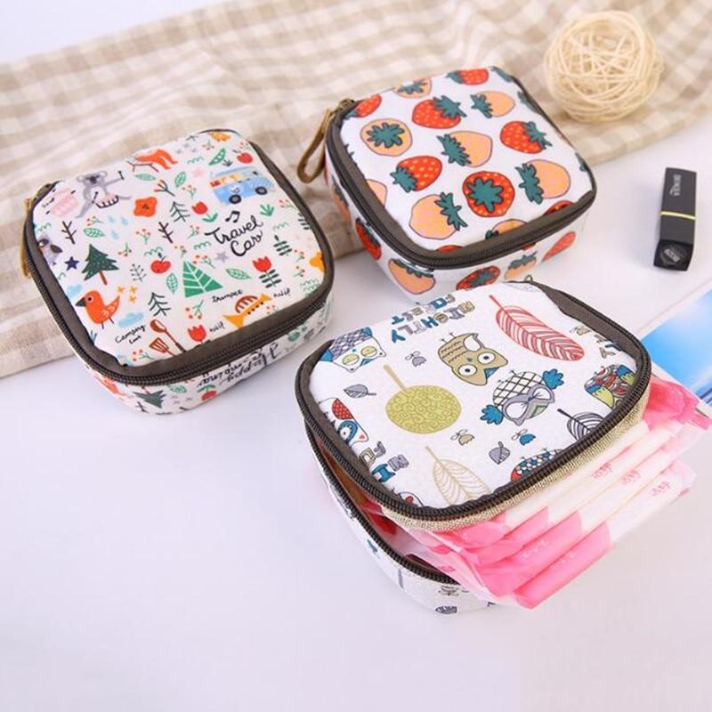 Multi-functional Wet Bag Reusable Bag for Mama Cloth Pads Menstrual Pad Sanitary Pads Bags Coin Lipstick Makeup Bag Makeup Tool