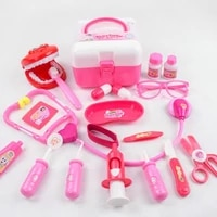 20pcs kids simulation dentist doctor cosplay game accessory pretend play toy kit intelligence develop toys for children gift