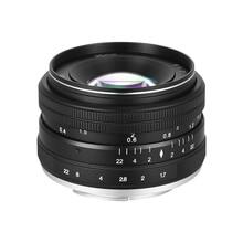 35mm F1.7 Grote Diafragma Handmatige Prime Vaste Lens voor Sony E-Mount NEX 3 NEX 3N NEX 5 NEX 5T NEX 5R Digitale Mirrorless Camera S