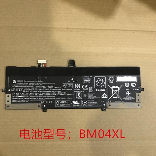 Nueva batería genuina para HP Elitebook 1030X360 G3 BM04XL, HSTNN-DB8L, HSTNN-UB7L, L02031-2C1, L02031-541, L02475-855, L02478-855