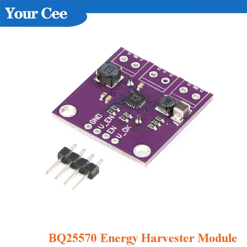 BQ25570 Energy Harvester Module Boost Charge Buck Conversion Converter Low Power Wireless Network