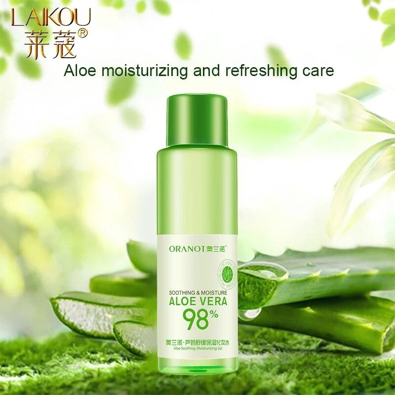 LAIKOU Aloe Face Tonic Hydration Facial Toner Skin Care Products Pore Minimizer Oil Control Makeup W