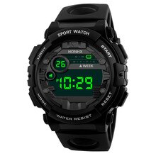 Sports Children's Watch Outdoor Military student Alarm clock fashion Digital LED Date Kids Boy hour
