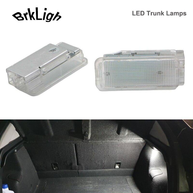 2 шт., светодиодные лампы для багажника Citroen C2/C3/C4/C5/C6/C8/DS3