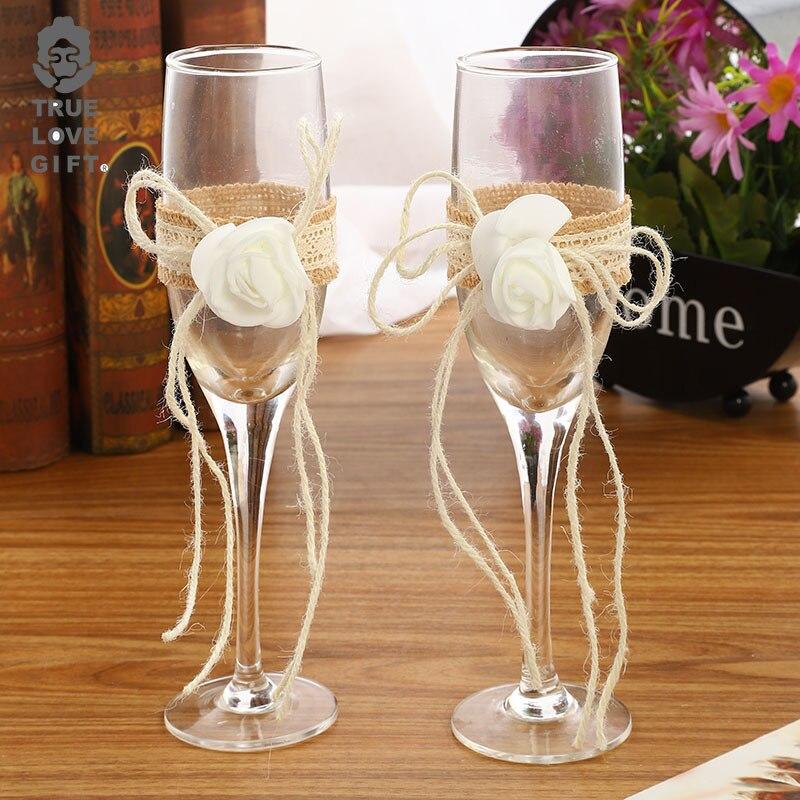 Copas de vino de cristal para fiesta de boda, lentes de cristal...