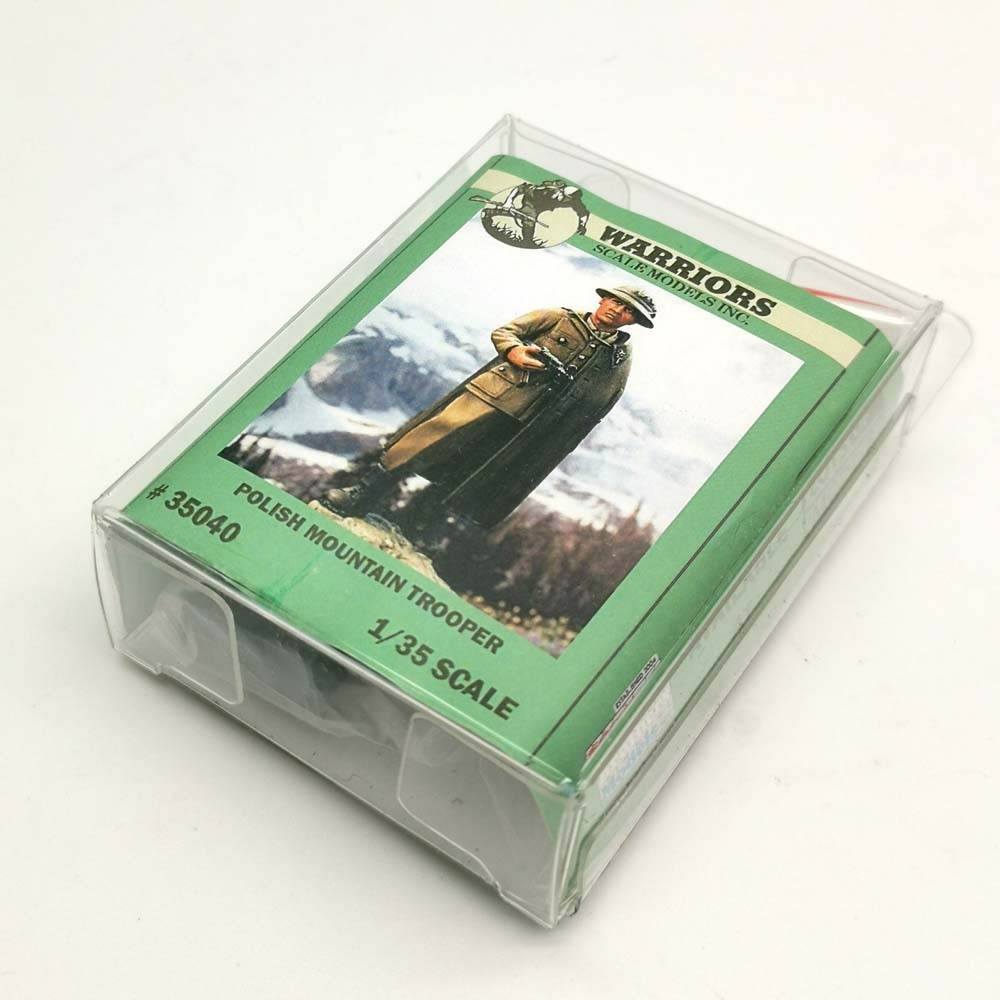 WARRIORS 1/35 Kits de resina Polish Mountain Trooper 1 paquete de caja