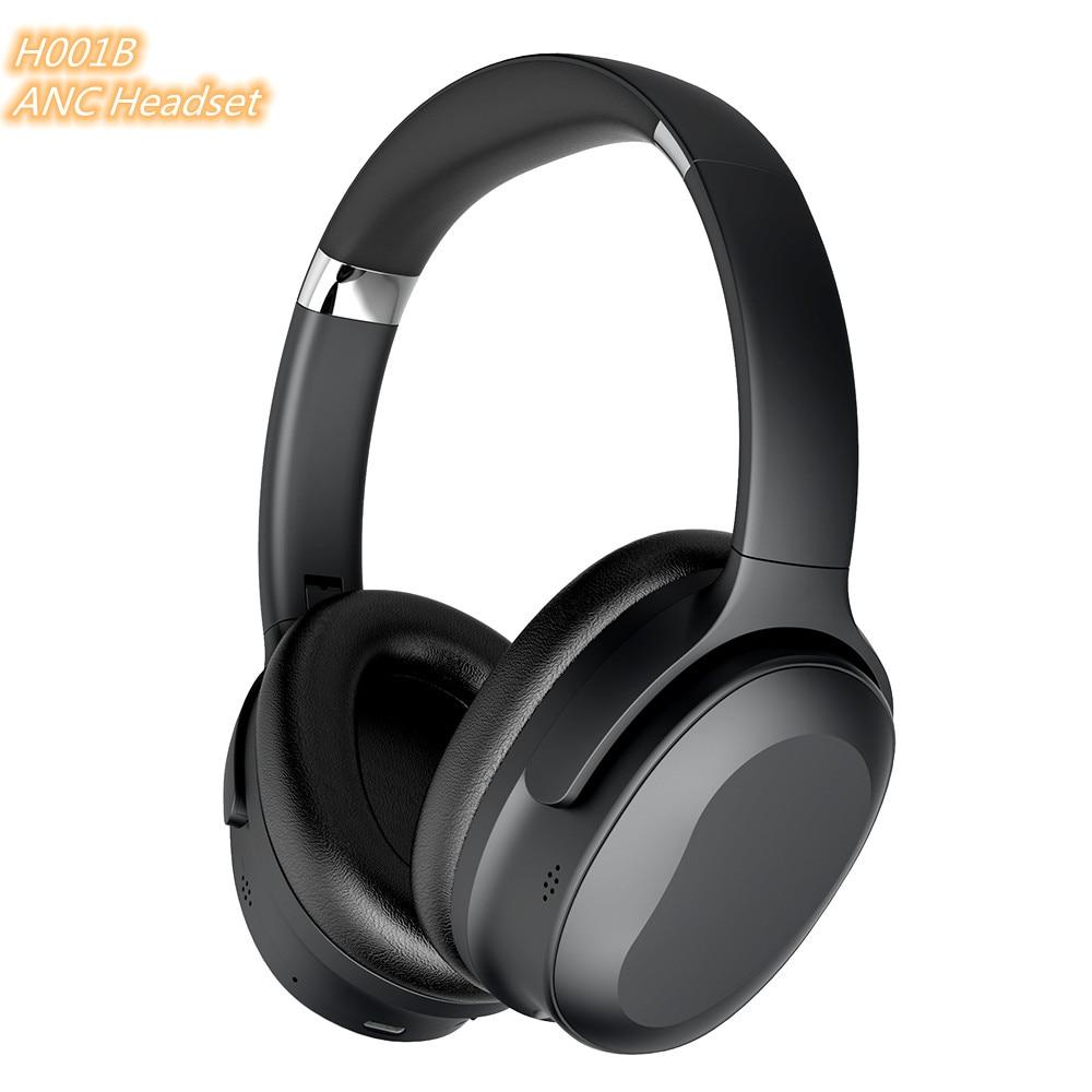 Ture Wireless Headphone Head phones ANC Cuffie Gaming Auricolari Wireless