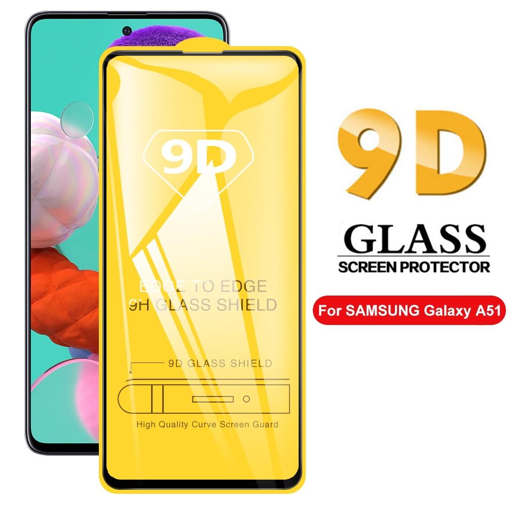 9d vidro temperado para samsung galaxy a52 a72 5g 4g protetor de tela para samsung a51 a71 a 52 72 capa completa de vidro película protetora