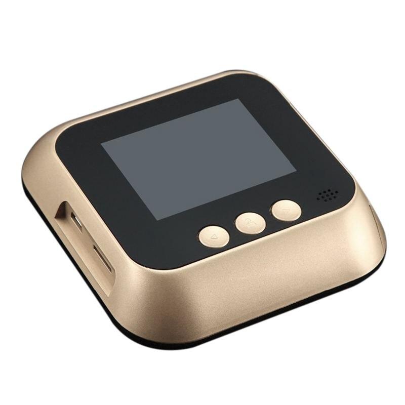 2,8 pulgadas Lcd detección de movimiento 160 grados mirilla visor IR puerta nocturna mirilla foto de cámara/Video grabación Digital puerta Camer