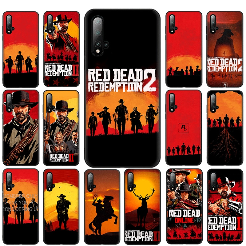 Red Dead Redemption 2 Luxury Mobile TPU Soft Phone Case for Huawei Nova 2i 2 Lite 3 3i 4 4E 5i 5T 7 7 SE Cover
