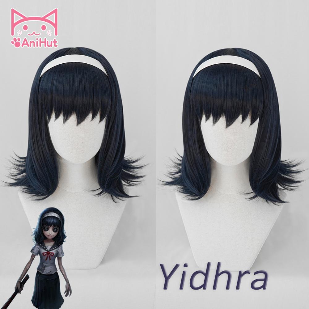 AniHut Yidhra Kawakami Tomie peluca juego identidad V Hunter sueño bruja Cosplay peluca sintética Mujer pelo identidad V Yidhra disfraz