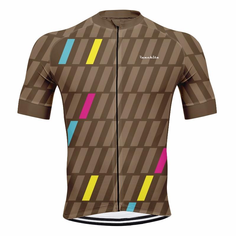 RUNCHITA, Jerseys De Ciclismo para hombre, verano, manga corta, Ropa De Ciclismo Maillot ITALIA, Ropa De Ciclismo, camiseta transpirable para Ciclismo