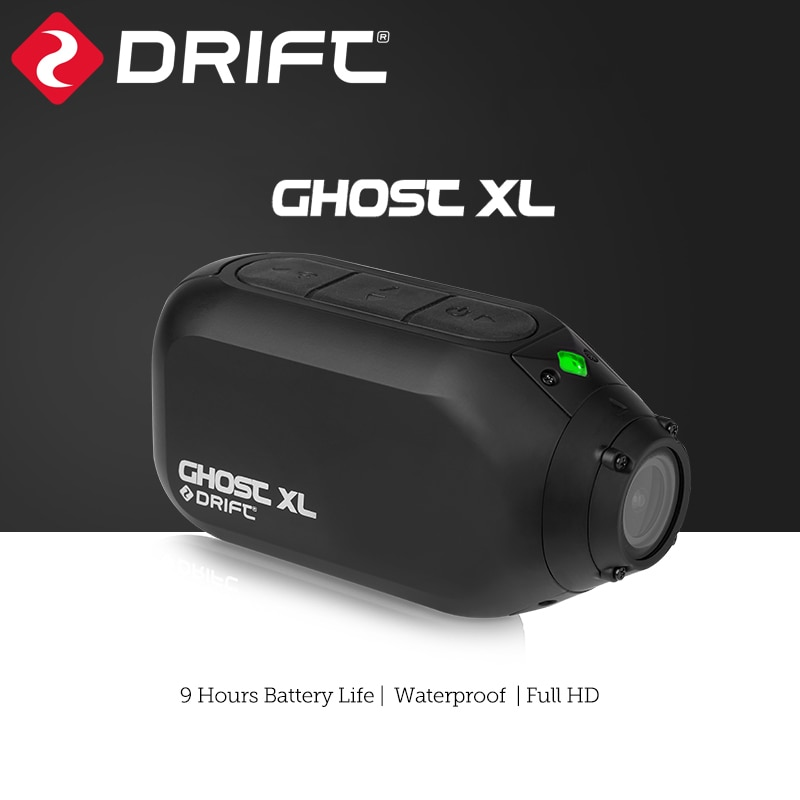 Drift Ghost XL Action Camera Live Streaming Vlog Sport 1080P Motorcycle Wearable Bike Bicycle Helmet Police Cam WiFi BT Video