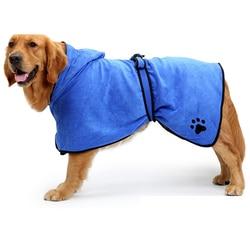 Cão microfibra toalha de banho robe super absorvente cobertor para gatos pequenos grandes cães pet secagem toalhas de praia suprimentos de limpeza