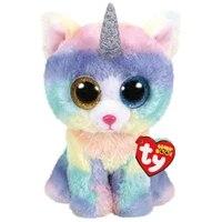 ty beanie boos big eyes unicorn owl monkey ladybug octopus plush stuffed animals toy collection doll birthday gift for kids 15cm