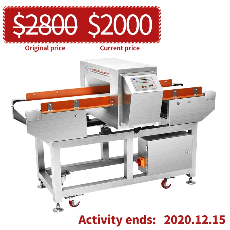 Food industry using a single and combined weighing control system