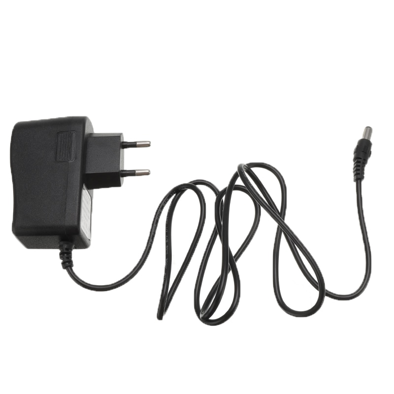Enchufe EU AC 110-240V DC 12,6 V 1A 1000MA adaptador fuente de alimentación 12,6 V voltios para cargador de batería de litio 18650