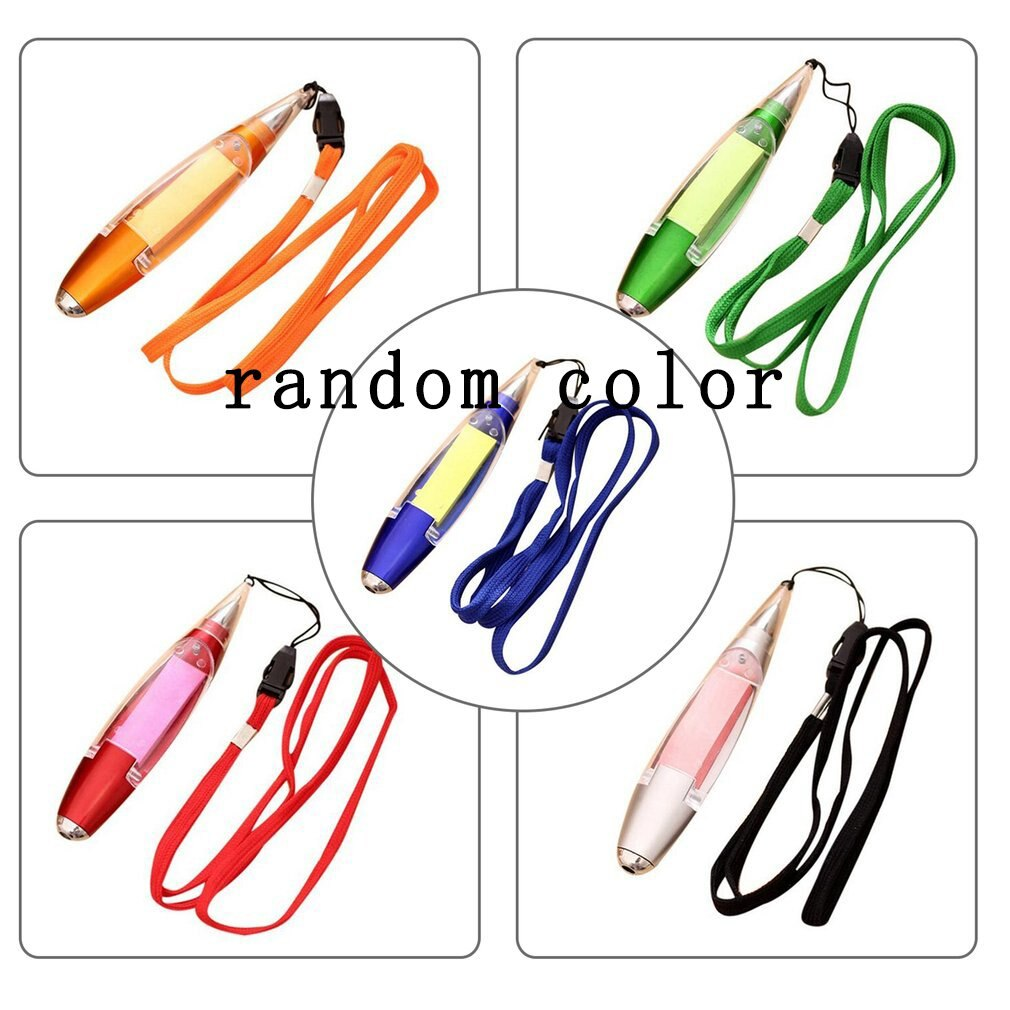 Novedad bolígrafo papelería luces LED cordón notas papel material escolar suministros de oficina Ideal regalo para niños 0,4mm