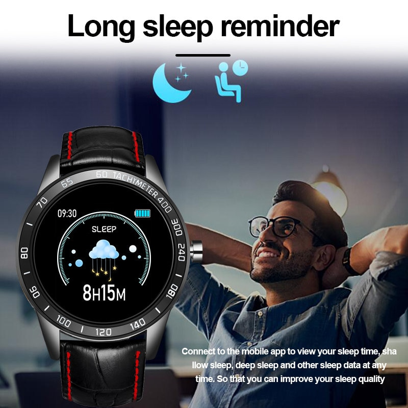 LIGE New Smart Watch Men Fitness Smart Watch IP67 heart rate blood Pressure Monitor Pedometer for Android ios Sports smart watch enlarge
