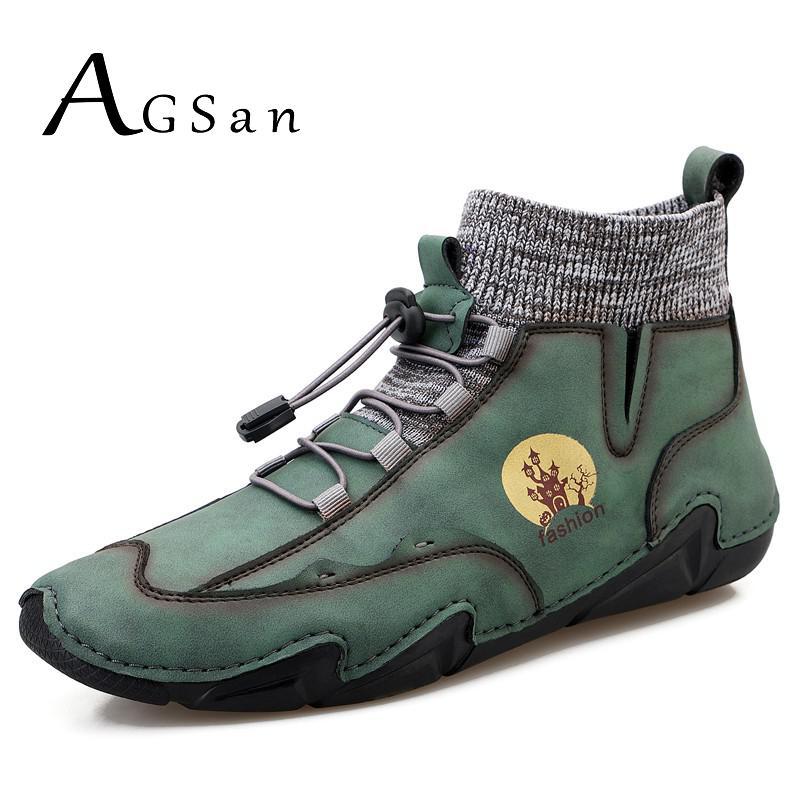 موضة الرجال الأحذية حذاء كاجوال عالية كبار أحذية رياضية كبيرة الحجم 48 47 الذكور حذاء مسطح في الهواء الطلق الترفيه الأحذية الأخضر الأزرق Zapatos ...