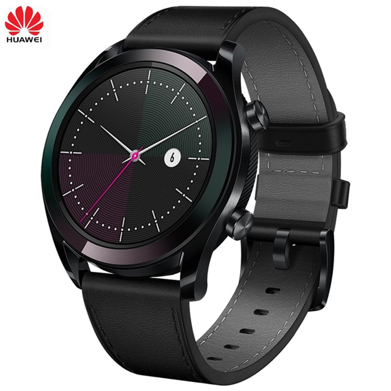98% NEW Huawei Smart Watch GT with GPS Heart Rate Monitoring Smart Sport Band SmartWatch 14 Days Last Tracker For Android iOS