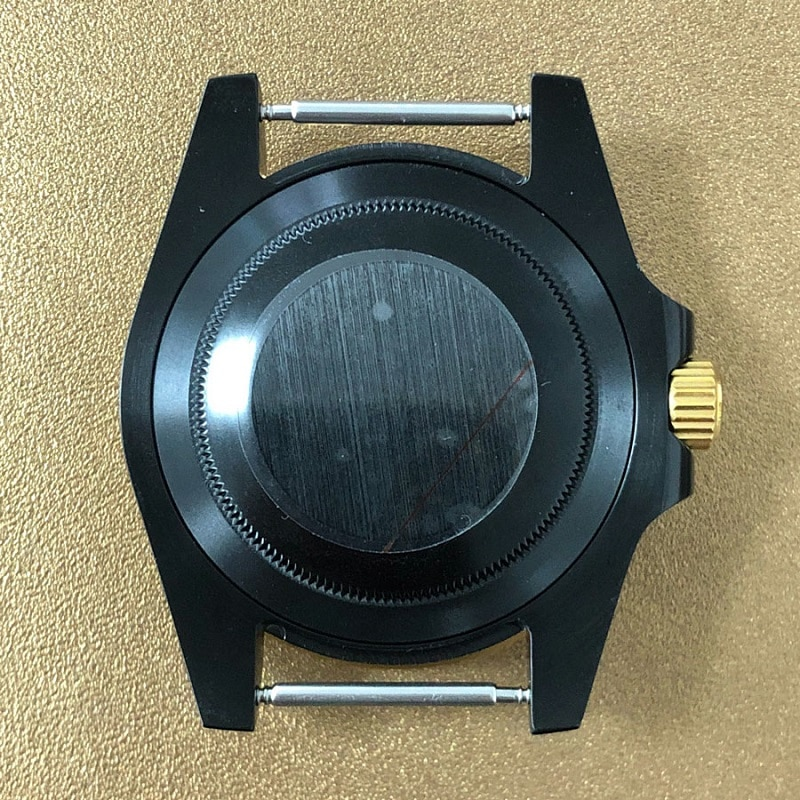 40mm Case Black Rolexstyle Watch Case with 20mm watch strap Fit SUB GMT SKX007 SRPD For NH35 NH36 Movement Men's watches parts enlarge