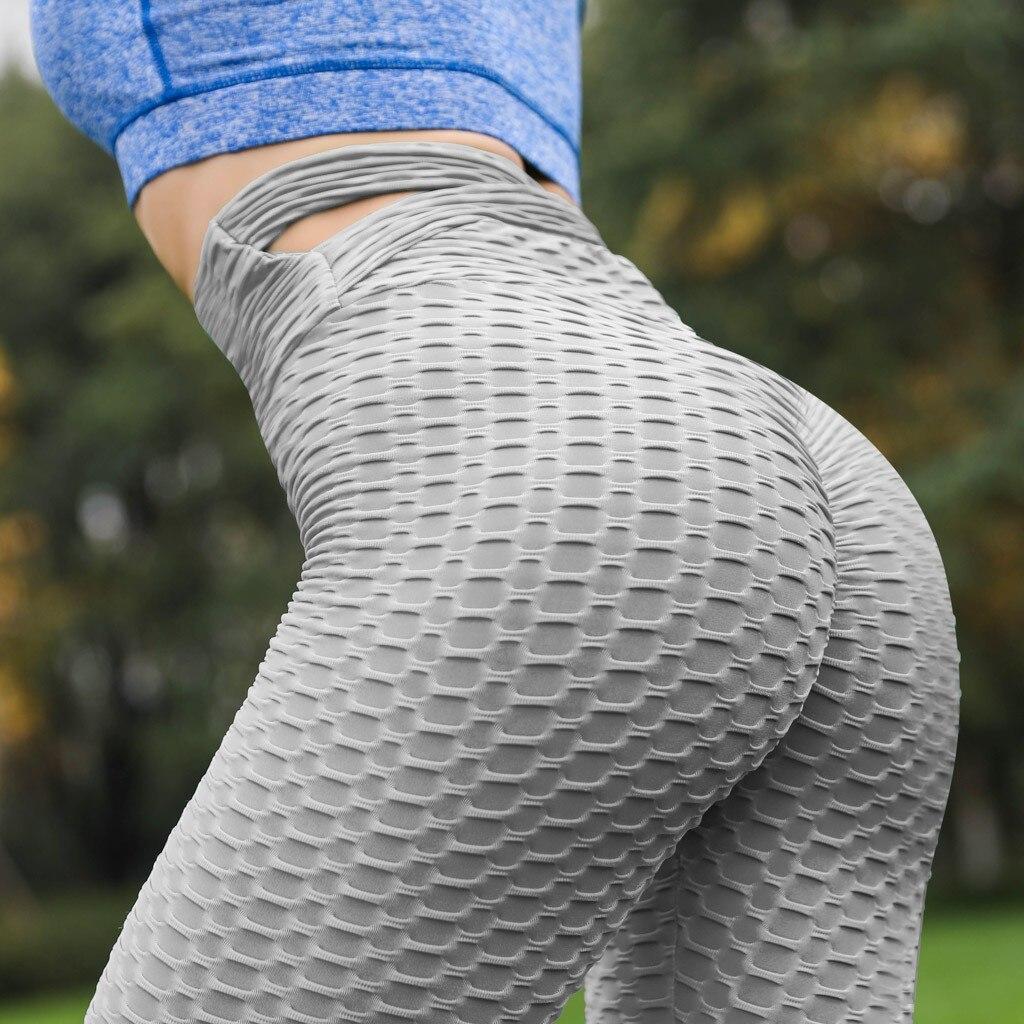 Leggings Sport Women Fitness Stretch Pants Women High Waist Elastic Leggings Ropas Feminina Sports Energy Seamless Leggings 2019