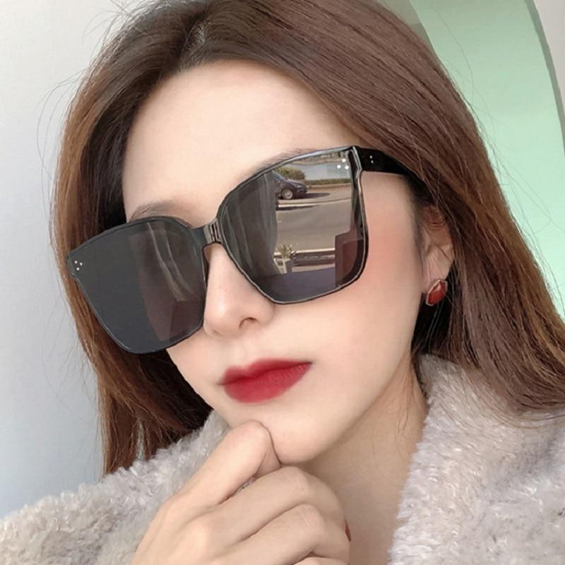 2021 Cat Eye Sunglasses Women Oversized Glasses Designer Shades For Men Vintage Retro Sun Glasses Lu