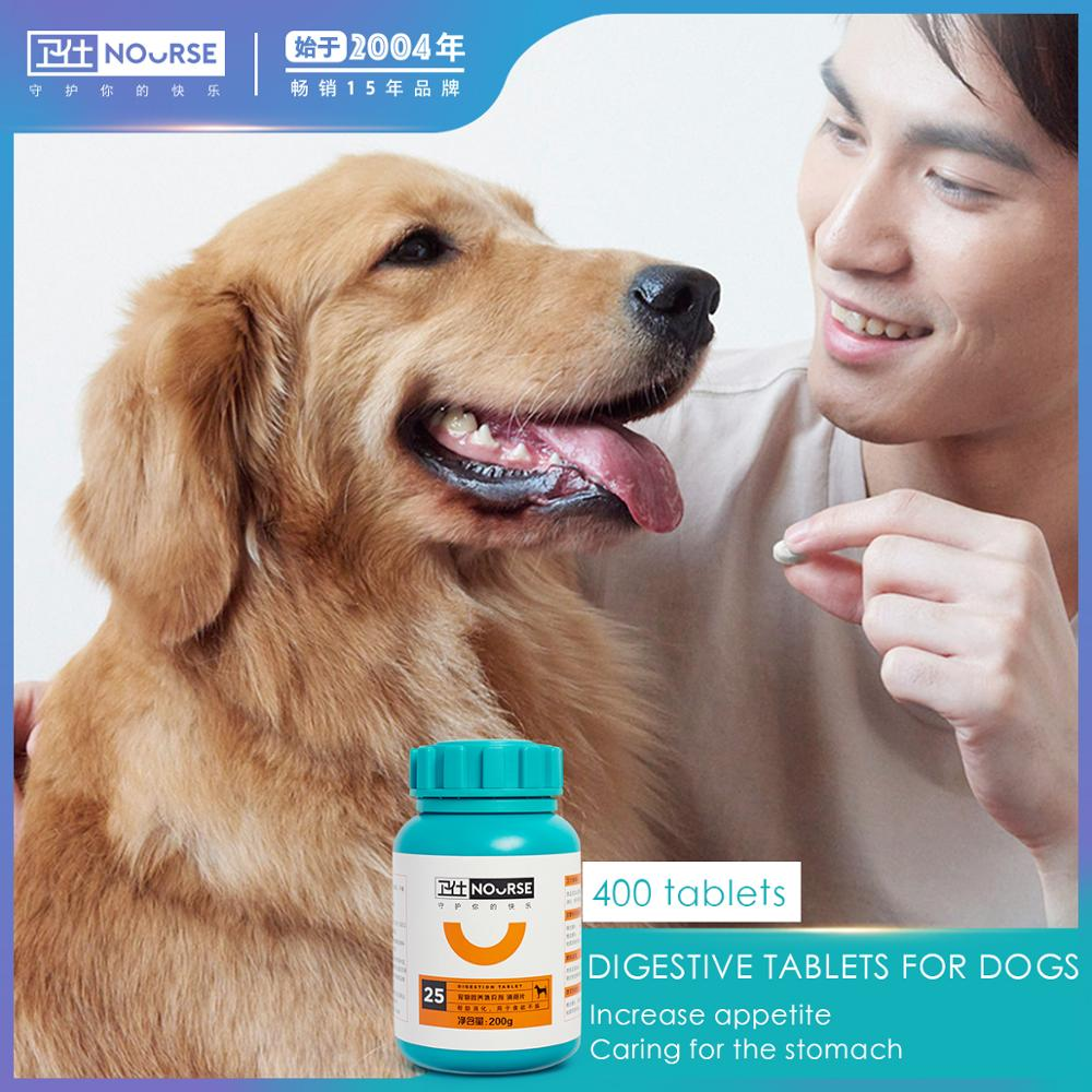 Nourse Pet dog digestion tablets conditioning gastrointestinal cat Teddy appetite constipation pet health products 400 tablets nours joint shu 160 tablets of dog dog joint health teddy joint health kang chondroitin pet joint bone health products for dogs