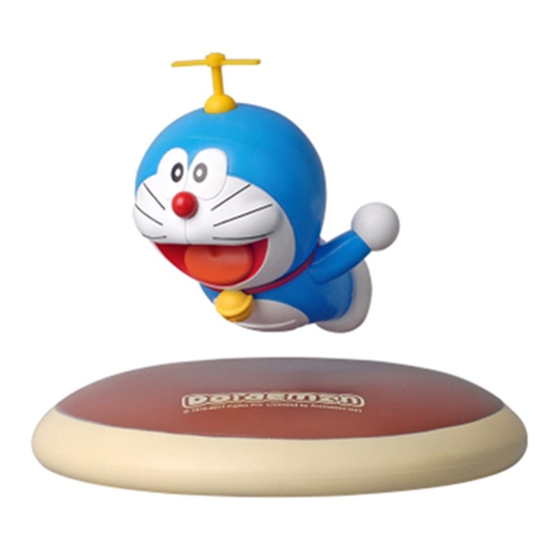 Figura DE ACCIÓN DE Doraemon de animé, suspensión maglev Nobita, socio de Nobi, juguete de modelos coleccionables k1