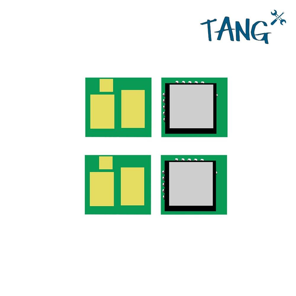 Actualizado CF540A 203 tóner chip para HP 203A M281fdw M254nw M280NW m280 m254 m281 universal chips de restablecimiento de cartucho para CF540 CRG054